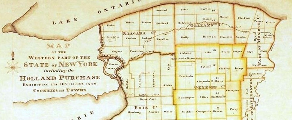 Historic Map of WNY